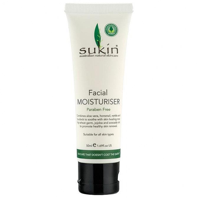 Cremă hidratantă pentru față - Sukin Facial Moisturiser Travel Size — Imagine N1