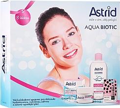 Parfumuri și produse cosmetice Set - Astrid Aqua Biotic Set (cr/50ml + micel/water/400ml + l/balm/4.8g)