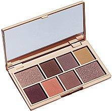Parfumuri și produse cosmetice Paletă fard de pleoape, 8 nuanțe - I Heart Revolution Mini Eyeshadow Palette
