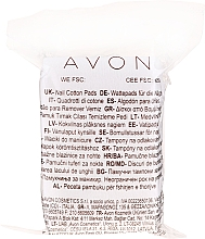 Parfumuri și produse cosmetice Discuri din bumbac pentru manichiură - Avon