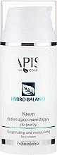 Parfumuri și produse cosmetice Cremă hidratantă pentru față - APIS Professional Hydro Balance Oxygenating And Moisturizing Face Cream