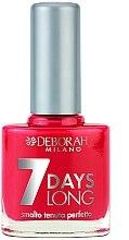 Parfumuri și produse cosmetice Lac de unghii - Deborah 7 Days Long