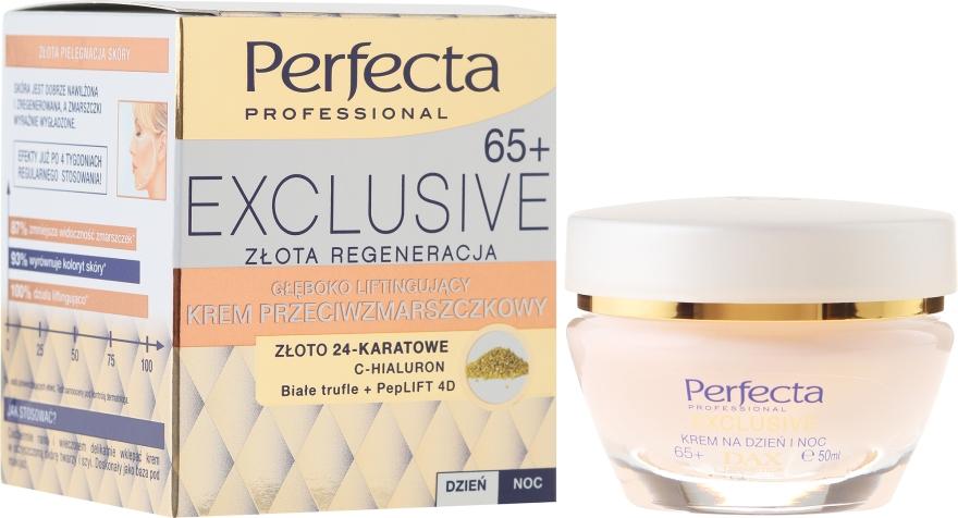 Cremă lifting împotriva ridurilor - Perfecta Exclusive Face Lifting Cream 65+