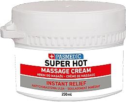 Parfumuri și produse cosmetice Cremă pentru masaj corporal super fierbinte - Pasmedic Super Hot Massage Cream