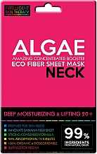 Parfumuri și produse cosmetice Mască-express pentru gât - Beauty Face IST Deep Moisturizing & Lifting Neck Mask Algae