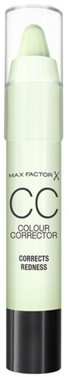 Corector de față - Max Factor CC Colour Corrector Corrects Redness — Imagine N1