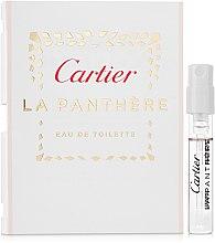 Parfumuri și produse cosmetice Cartier La Panthere Eau de Toilette - Apă de toaletă (mostră)