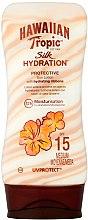 Parfumuri și produse cosmetice Loțiune de protecție solară pentru corp - Hawaiian Tropic Silk Hydration Sun Lotion SPF 15