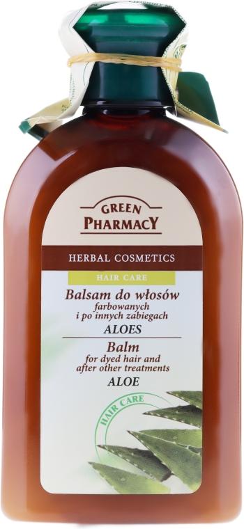 "Balsam pentru păr vopsit și deteriorat ""Aloe"" - Green Pharmacy"
