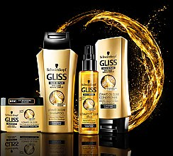"Spray de păr ""Ultimate oil elixir"" - Schwarzkopf Gliss Kur Ultimate Oil Elixir Serum — Imagine N2"