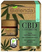 Parfumuri și produse cosmetice Cremă hidratantă de față - Bielenda CBD Cannabidiol Cream
