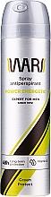 Parfumuri și produse cosmetice Spray antiperspirant cu vitamina E - Wars Expert For Men Energetic Green Protect