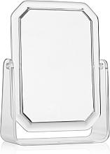 Parfumuri și produse cosmetice Oglindă cosmetică dreptunghiulară cu două fețe, 19,5x14,5 cm - Titania