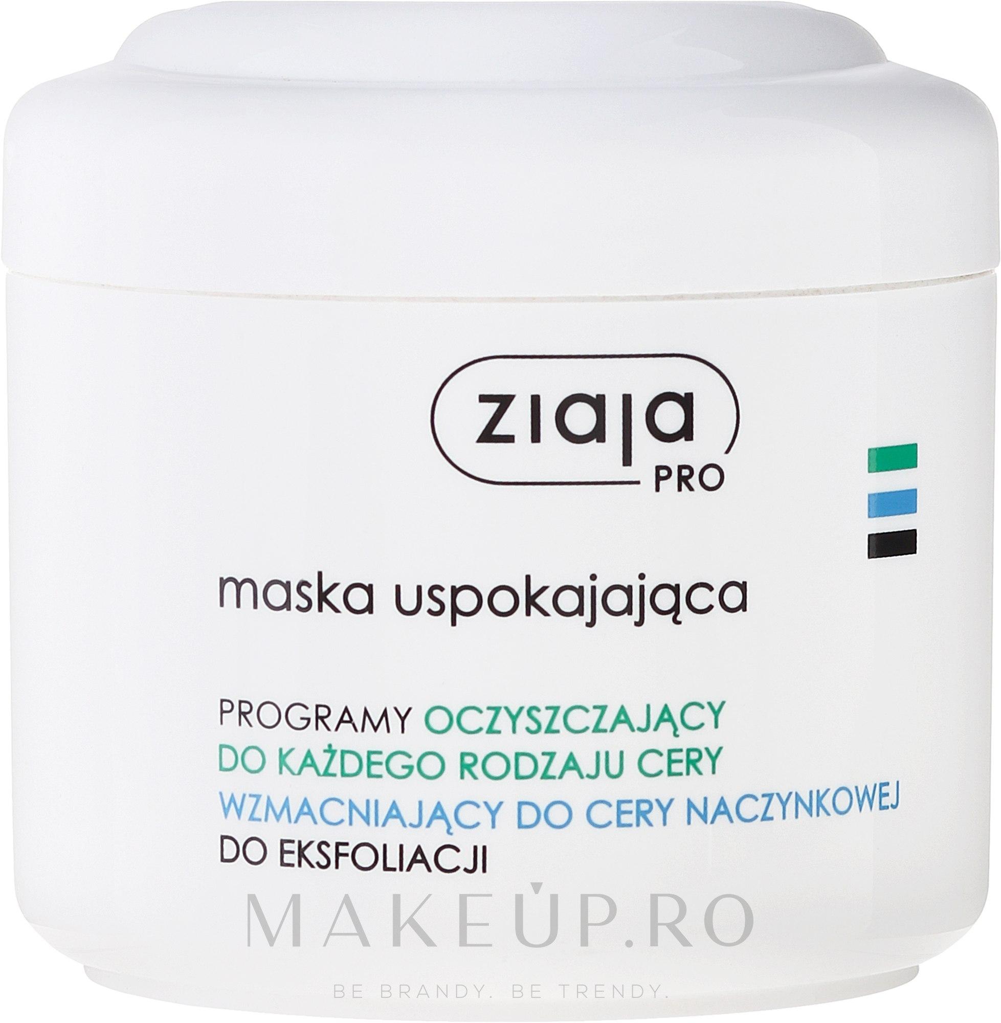 Mască calmantă pentru față - Ziaja Pro Soothing Face Mask — Imagine 250 ml