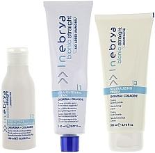 Parfumuri și produse cosmetice Set pentru îndreptarea chimică a părului - Inebrya Bionic Straight Ammonia Free 3 Steps Kit (cr/150ml + lotion/100ml + cr/200ml)