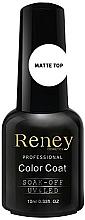 Parfumuri și produse cosmetice Fixator mat pentru gel-lac - Reney Cosmetics Top Matte Velvet No Wipe