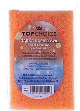 Parfumuri și produse cosmetice Burete de baie 30413, orange - Top Choice