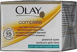 Cremă de zi acțiune triplă pentru piele sensibilă - Olay Complete Day Cream — Imagine N1