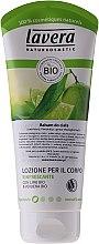 """Parfumuri și produse cosmetice Loțiune revigorantă pentru corp """"Lime și verbena"""" - Lavera Organic Lime & Verbena Body Lotion"""