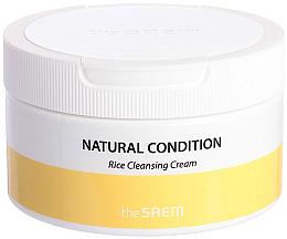 Parfumuri și produse cosmetice Cremă de curățare cu orez - The Saem Natural Condition Rice Cleansing Cream