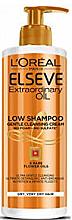 """Parfumuri și produse cosmetice Șampon-îngrijire 3 în 1 pentru păr """"6 uleiuri de lux"""" - L'Oreal Paris Elseve Low Shampoo"""
