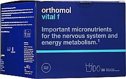 Parfumuri și produse cosmetice Vitamine granule + capsule + stevia comprimate (30 zile) - Orthomol Vital F