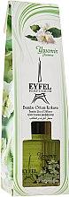 "Parfumuri și produse cosmetice Difuzor Aromatic ""Iasomie"" - Eyfel Perfume Reed Diffuser Jasmin"