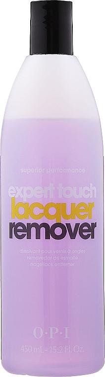 Soluție pentru îndepărtarea ojei, cu aromă de citrice - O.P.I Expert Touch — Imagine N5