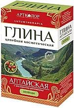"""Parfumuri și produse cosmetice Argila cosmetică verde """"Altai"""" cu extract de trandafir - Artkolor"""