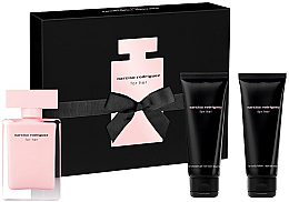 Parfumuri și produse cosmetice Narciso Rodriguez For Her - Set (edt/50ml + b/lot/75ml + sh/gel/75ml)