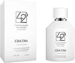 Parfumuri și produse cosmetice 42° by Beauty More Cha Cha - Apă de parfum