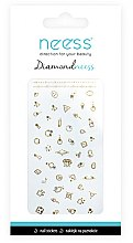 Parfumuri și produse cosmetice Abțibilduri pentru unghii, 3711 - Neess Diamondneess