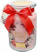 Parfumuri și produse cosmetice Lumânare aromatică, 10x16 cm., 700g. - Artman Wild Garden Peonies
