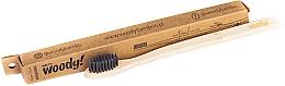 Parfumuri și produse cosmetice Periuță de dinți din bambus, moale. peri negri - WoodyBamboo Bamboo Toothbrush Natural