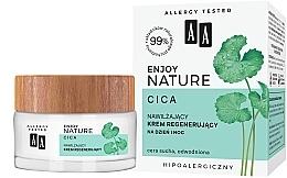 Parfumuri și produse cosmetice Cremă hidratantă și regenerantă pentru față - AA Enjoy Nature Cica Moisturising Regenerating Cream