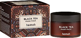 Parfumuri și produse cosmetice Mască de față - Heimish Black Tea Mask Pack