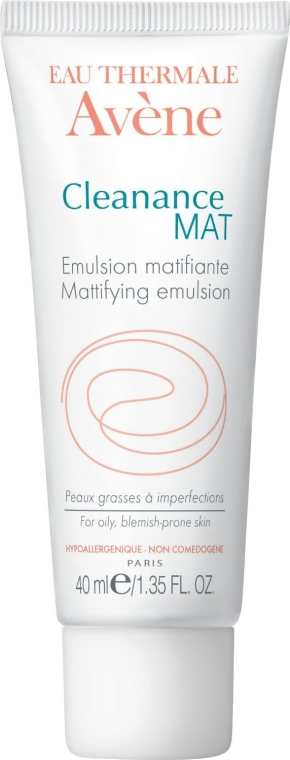 Emulsie mată pentru pielea problematică - Avene Anti-Seborrheiques Cleanance Emulsion — Imagine N1