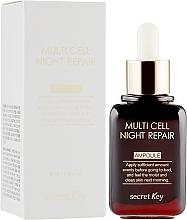 Parfumuri și produse cosmetice Ser de noapte - Secret Key Multi Cell Night Repair Ampoule