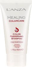 Parfumuri și produse cosmetice Șampon pentru protecția culorii părului vopsit - L'Anza Healing ColorCare Color-Preserving Shampoo (mini)