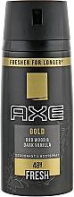 Set - Axe Gold (deo/150ml + sh/gel/250ml) — Imagine N4