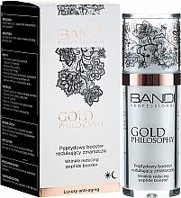Parfumuri și produse cosmetice Cremă cu peptide împotriva ridurilor - Bandi Professional Gold Philosophy Wrinkle Reducing Peptide Booster