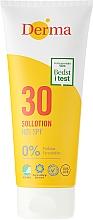 Parfumuri și produse cosmetice Loțiune de corp pentru protecție solară - Derma Sun Lotion SPF30