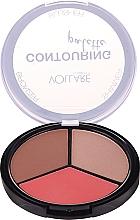Parfumuri și produse cosmetice Paletă pentru counturing - Vollare Cosmetics Contouring Palette Bronzer, Shimmer, Blusher