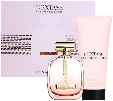 Nina Ricci L'Extase Caresse De Roses - Set (edp/80ml + b/lot/200ml) — Imagine N1