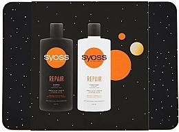 Parfumuri și produse cosmetice Set - Syoss Repair Metal Box (shmp/440ml + cond/440ml)