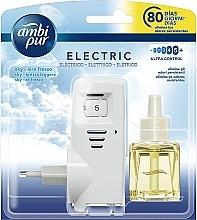 """Parfumuri și produse cosmetice Set pentru aromatizare """"Sky"""" - Ambi Pur (diffuser/1szt+refill/21.5ml)"""