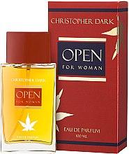 Parfumuri și produse cosmetice Christopher Dark Open - Apă de parfum