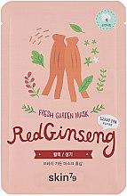 "Parfumuri și produse cosmetice Mască din țesut pentru față ""Ginseng roșu"" - Skin79 Fresh Garden Red Ginseng Mask"