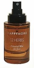 Parfumuri și produse cosmetice Spray pentru față - Happymore 12 Herbs Essential Mist
