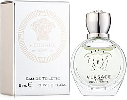 Parfumuri și produse cosmetice Versace Eros Pour Femme - Apă de toaletă (mini)